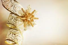 тесемка рождества Стоковые Фотографии RF