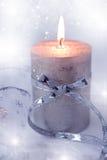 тесемка состава рождества свечки Стоковое Изображение