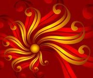 тесемка цветка 3 предпосылок иллюстрация штока