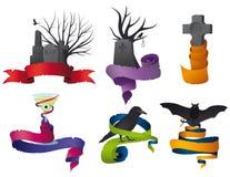 тесемка halloween собрания Стоковое Изображение