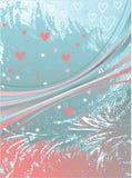 тесемки сердец розовые Стоковое Фото