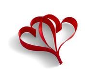 Тесемки сердец Стоковые Фотографии RF