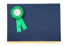 тесемки сертификата значка пожалования Стоковые Изображения RF