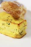 Тесто муки Phil Lo сандвича сыра ветчины стоковое фото