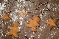 Тесто печенья Стоковое Фото