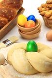 Тесто хлеба пасхи Стоковое фото RF