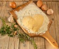 Тесто для равиоли Стоковое Фото