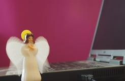 тетрадь ангела Стоковая Фотография RF