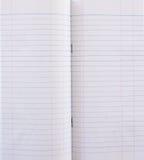 тетрадь бухгалтерии стоковая фотография rf