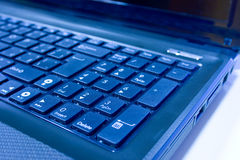 тетрадь клавиатуры Стоковое Изображение