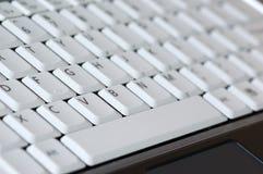 тетрадь клавиатуры Стоковое Фото