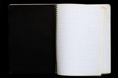 тетрадь открытая Стоковые Фотографии RF