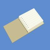 Тетрадь вектора для офиса Стоковые Изображения RF