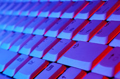 тетрадь клавиатуры Стоковое Изображение RF