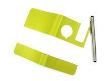 Тетрадь с ручкой Стоковые Фотографии RF