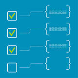 Тетрадь с для того чтобы сделать список Стоковое Изображение RF