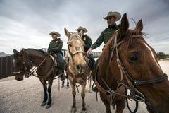 Техас - Эль-Пасо - граница Стоковые Фото