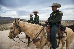 Техас - Эль-Пасо - граница Стоковые Изображения