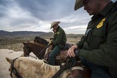 Техас - Эль-Пасо - граница Стоковая Фотография
