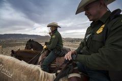 Техас - Эль-Пасо - граница Стоковая Фотография RF