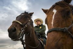 Техас - Эль-Пасо - граница Стоковые Фотографии RF