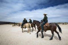 Техас - Эль-Пасо - граница Стоковое фото RF