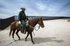 Техас - Эль-Пасо - граница Стоковые Изображения RF