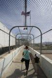 Техас - Эль-Пасо - граница Стоковое Изображение RF