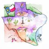 Техас бесплатная иллюстрация