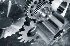 Техника и технология, шестерни и cogs Стоковое Изображение RF