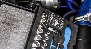 Техники по ремонту двигателя Стоковое Изображение