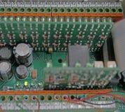 Технические электрические монтажные платы Стоковое фото RF
