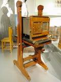 26 05 2018, технический музей Wien, Австрии: Винтажный античный w стоковое фото
