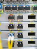 Технический оператор оборудования связи Стоковые Фотографии RF