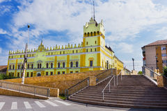 Техническое высшее учебное заведение Aiud в Alba County Румынии Стоковая Фотография