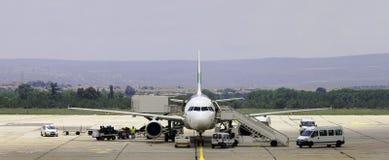 техническое обслуживание самолета Стоковые Фотографии RF