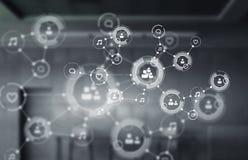Технологии для соединения Мультимедиа Стоковое Изображение