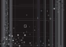 технология бинарного Кода цифровая Стоковое Изображение