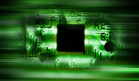 технология близкого прибора принципиальной схемы электронная вверх Стоковая Фотография