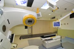 Технология выдвижения развертки CT для медицинского диагноза Стоковые Фотографии RF