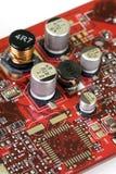 технология графиков карточки Стоковое фото RF