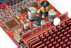 технология графиков карточки Стоковая Фотография RF
