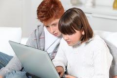 технология детей Стоковые Фото
