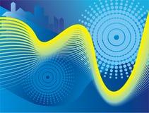 технология диаграммы предпосылки Стоковая Фотография RF