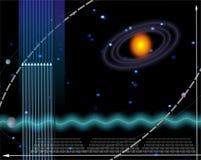 технология диаграммы предпосылки Стоковое фото RF