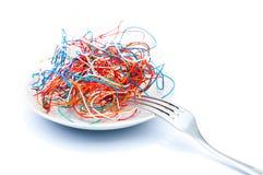 технология еды Стоковое фото RF