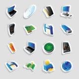 технология индустрии икон иллюстрация штока
