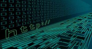 технология интернета Стоковые Изображения RF