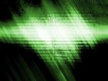 технология источника Кода предпосылки иллюстрация вектора
