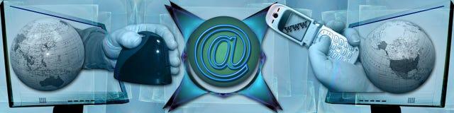 технология коллектора связи бесплатная иллюстрация